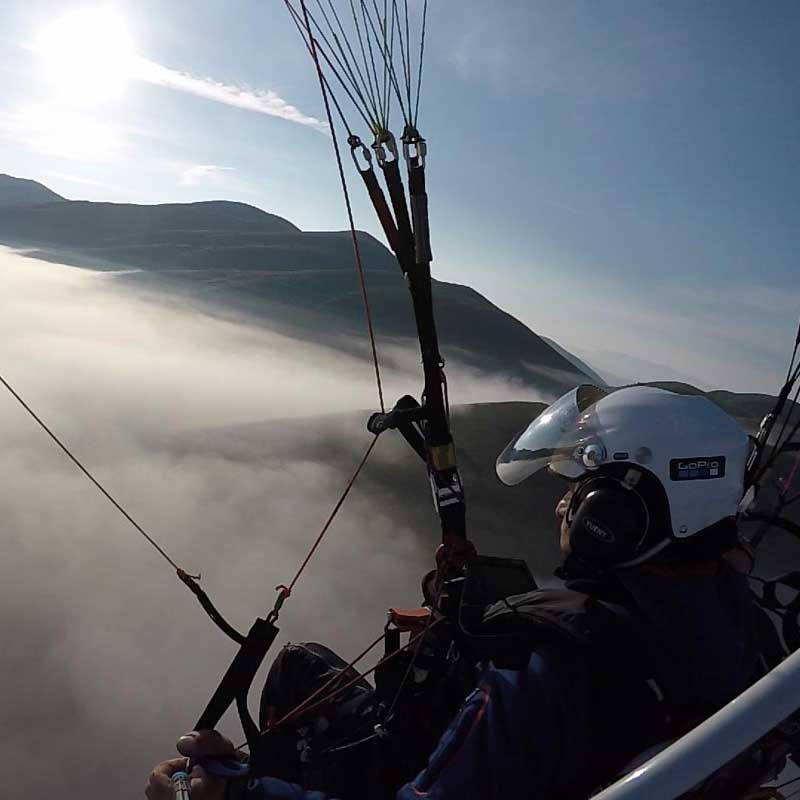 FLYING IN ABRUZZO
